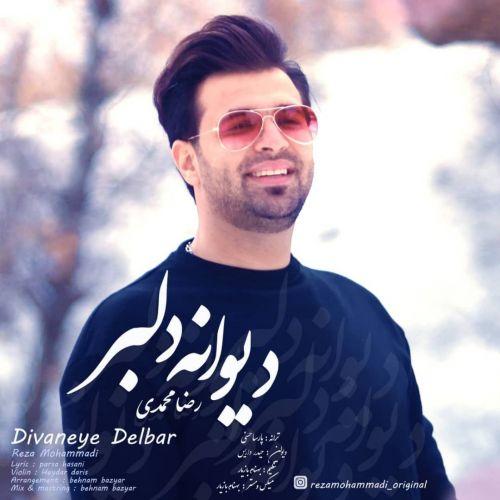 دانلود موزیک جدید رضا محمدی دیوانه دلبر